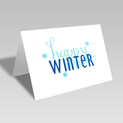 Happy Winter Card