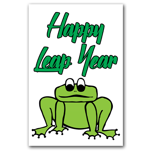Leap Year Froggie Gift Tags *Free Printable Download