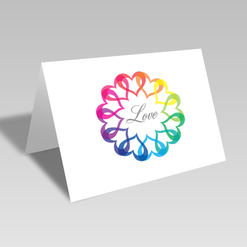 Rainbow of Love Card