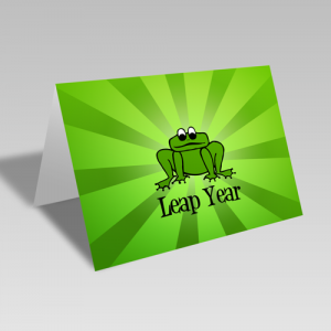 Leap Year Cards