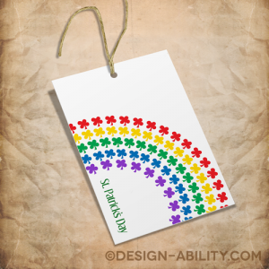 St. Patrick's Gift Tags Set