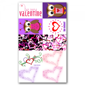 Valentine Gift Tags Set