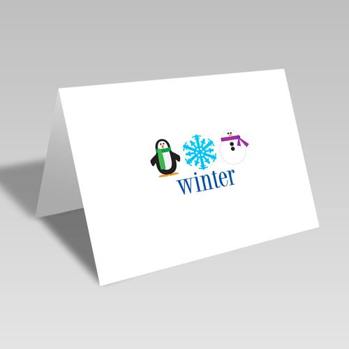 Winter Trio Card