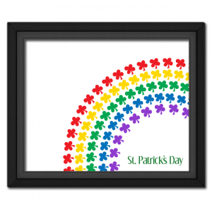 Clover Rainbow Picture