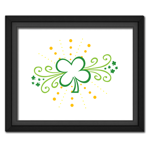 Clover Swirls Picture