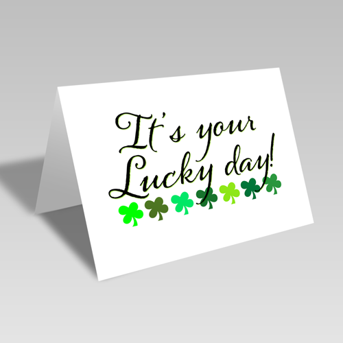 Lucky Day Card