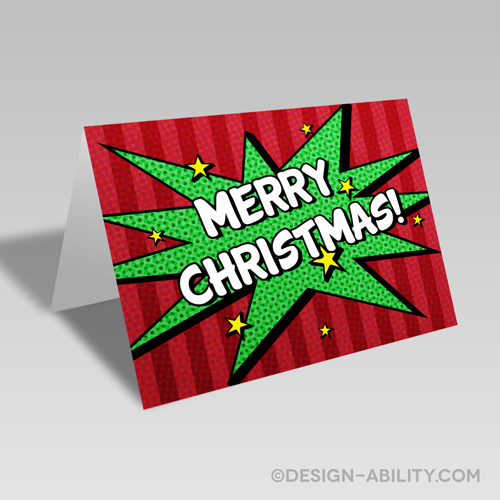 Comic Christmas Card