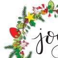 Joy Wreath Picture