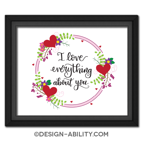 I Love Everything About You Picture