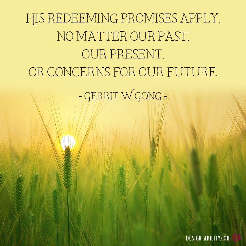 Christ's Redeeming Promises Apply To All