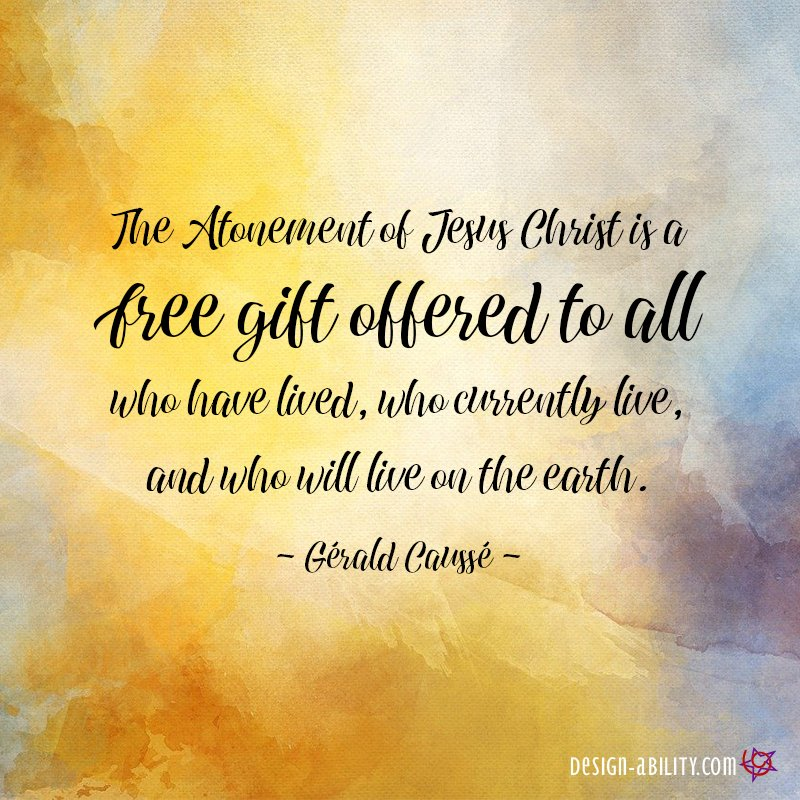 The Atonement is a Free Gift