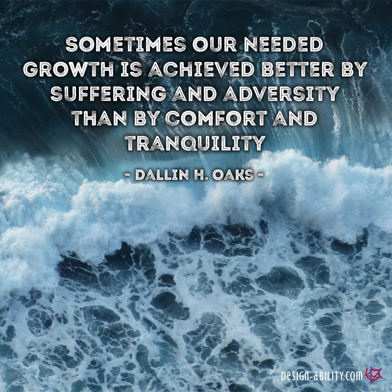 Growth is Achieved Better By...