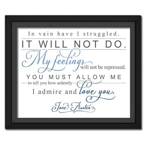 Ardently Blue | Quotation Picture