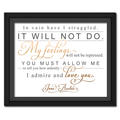 Ardently Brown | Quotation Picture