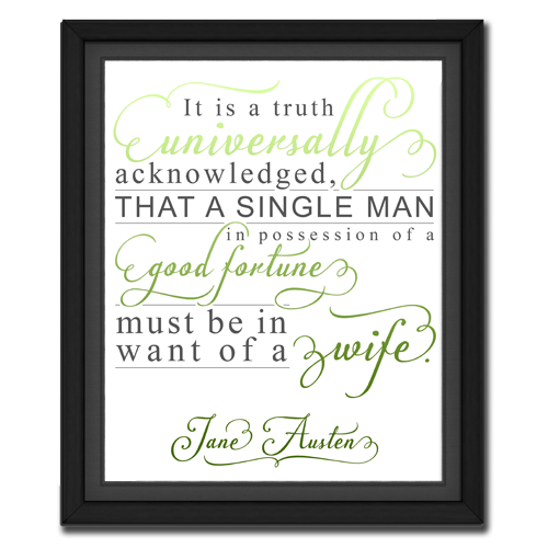 Universal Truth Green | Quotation Picture
