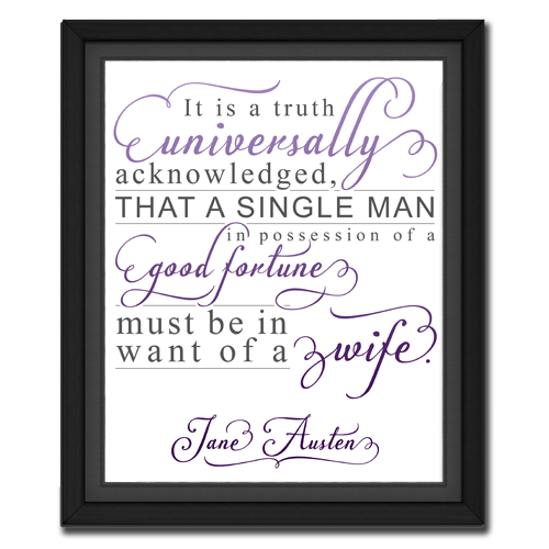 Universal Truth Purple | Quotation Picture