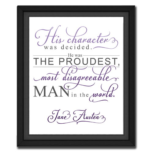 Character Purple | Quotation Picture