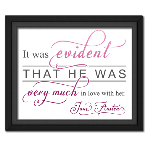 Evident Pink | Quotation Picture