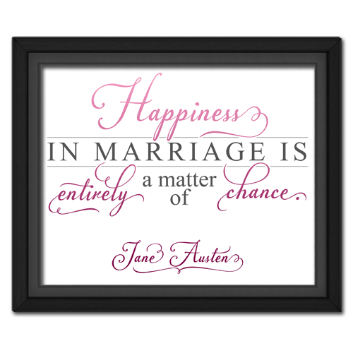 Happiness Pink | Quotation Picture