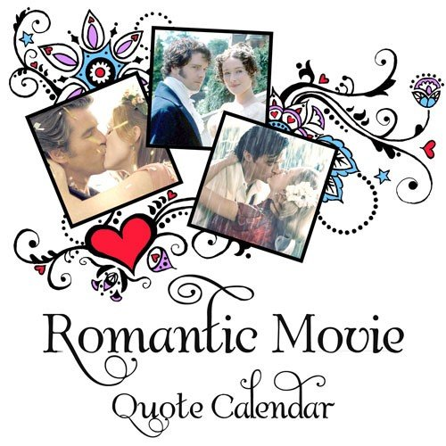 Romantic Movie Quote Calendar