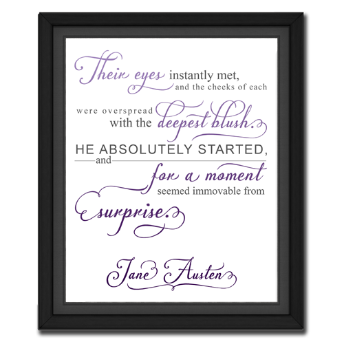Surprise Purple | Quotation Picture
