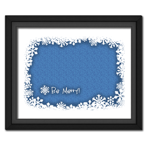 Be Merry Blue