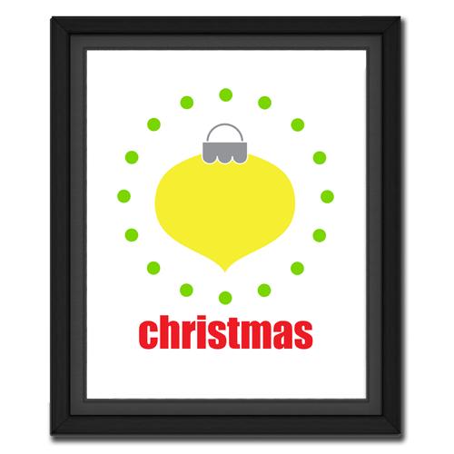 Christmas Ornament Circular