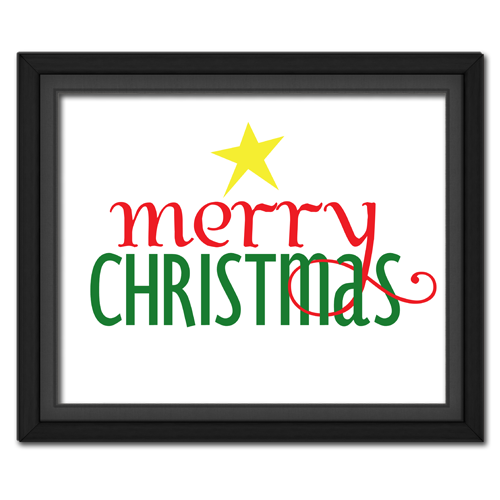 Fancy Merry Christmas