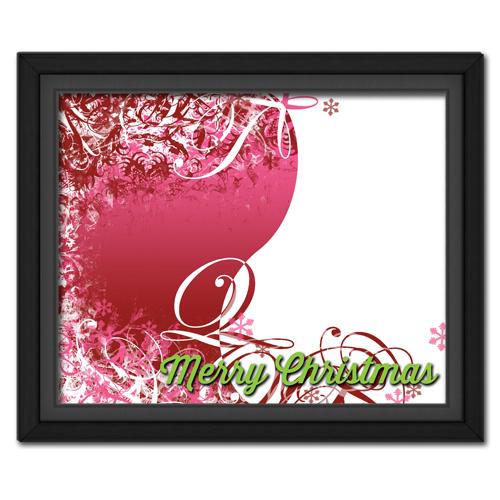 Christmas Swirls Pink