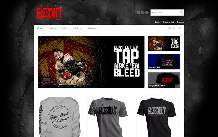 Bleedout Fight Apparel