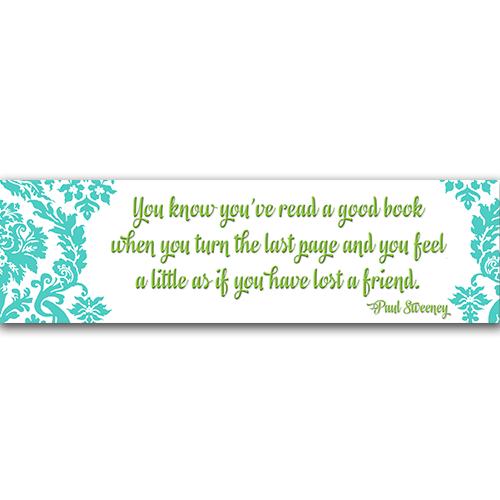 Read a Good Book Bookmark