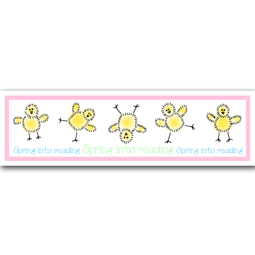 Spring into Reading Bookmark