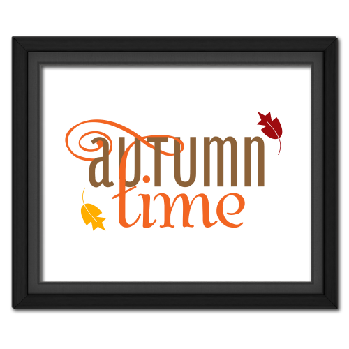 Autumn Time Poster