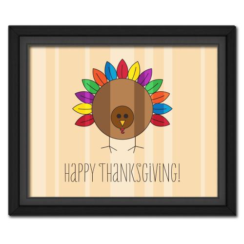 Happy Thanksgiving Turkey Picture Free Download! #freebie #thanksgiving