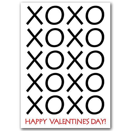XOXO Love Valentine PSD Template