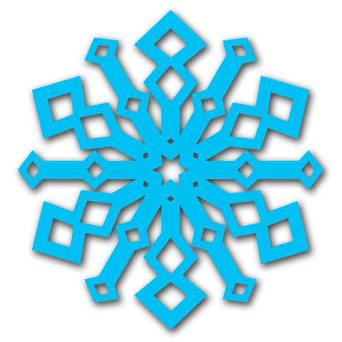 Free Snowflake Craft ** Free Printable Download **
