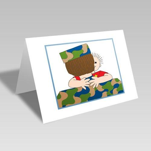 A Paper Hug Card