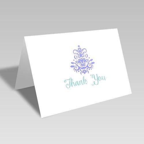 Thank You Brocade Card