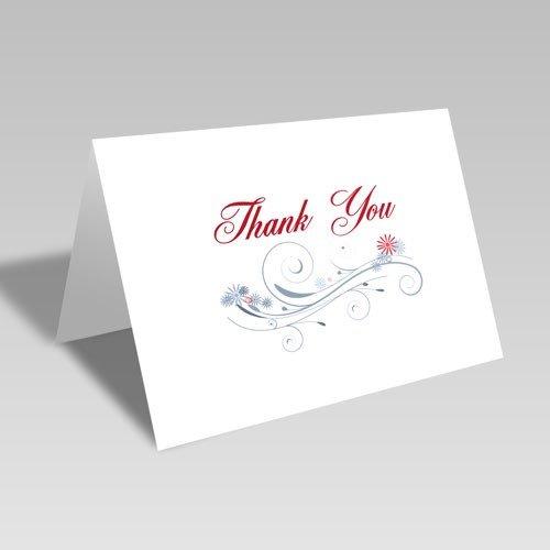 Thank You Swirls Card