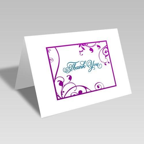 Thank You Vine Swirl Card