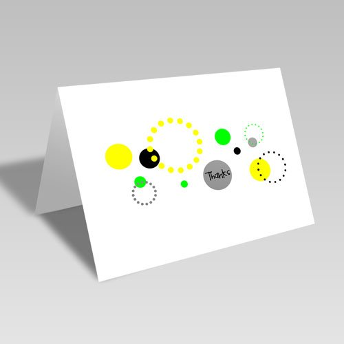 Thank You Circular Card