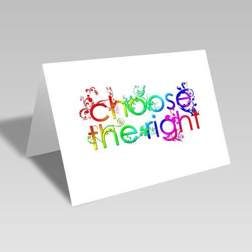 CTR Vines Card - Bright #choosetheright
