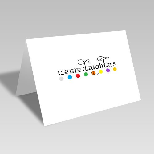 We Are Daughters Dots Card #lds #youngwomen