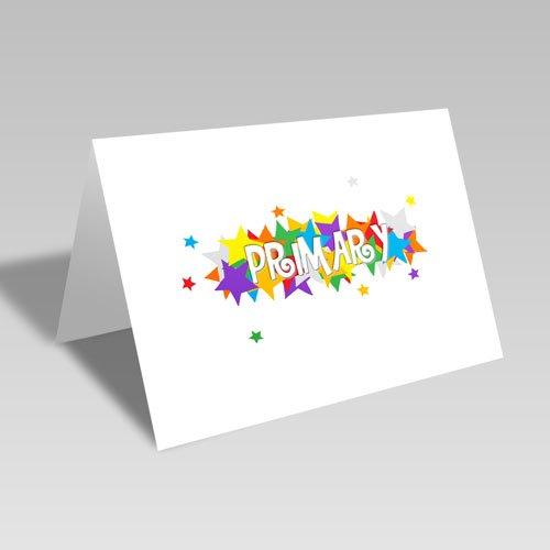 Primary Star Card #ldsprimary