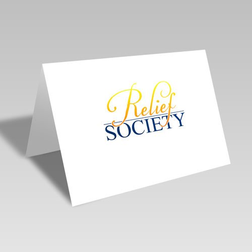 Relief Society Card #lds #reliefsociety
