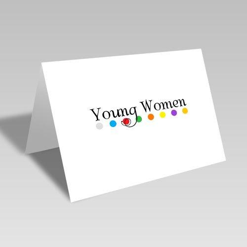 Young Women Dots Card #lds #youngwomen