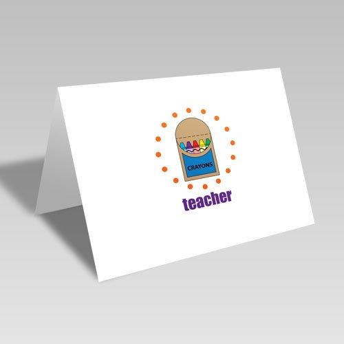 Teacher's Crayons Card