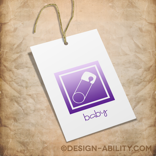 Baby Gift Tags Set 1