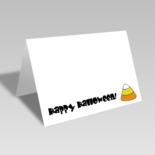 Candy Corn Card **Free Printable Download **