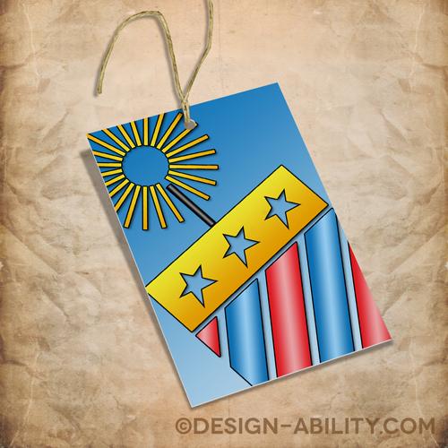 Patriotic Gift Tags